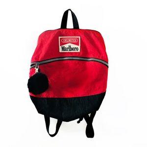 ✨Vintage✨ Marlboro mini backpack